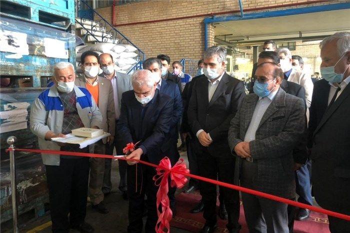 افتتاح خط تولید قطعهسازی محصولات سایپا