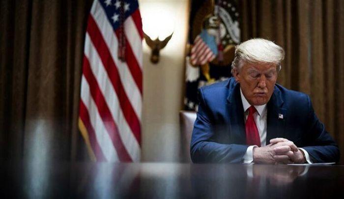 حساب بانکی ترامپ بسته شد