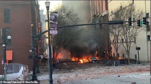 جزئیات انفجار وحشتناک در آمریکا + عکس