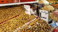 قیمت آجیل و خشکبار در بازار(۹۹/۱۰/۲۳)
