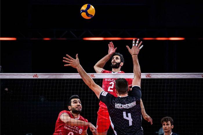 سقوط تیم ملی والیبال ایران به رده دوازدهم + جدول