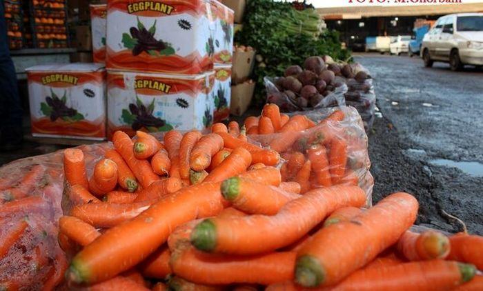 قیمت جدید هویج در بازار